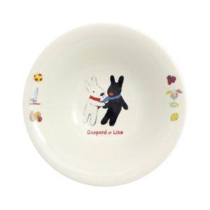 [Gaspard et Lisa 麗莎和卡斯柏] 麥片碗 (相識/400ml/日本製)