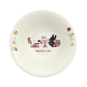 [Gaspard et Lisa 麗莎和卡斯柏] 麥片碗 (花朵/400ml/日本製)
