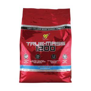 (福利品)[BSN] True-Mass 1200高熱量乳清蛋白-巧克力 (10磅/袋)