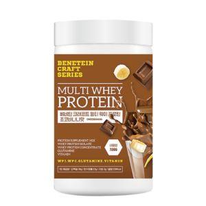 [韓國 The BeneFood] 綜合乳清蛋白-香蕉巧克力(720g/罐)