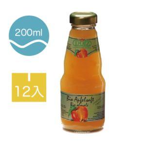 [德國好鮮] 有機純瓶果汁-隨手瓶 (12入200ml/瓶)