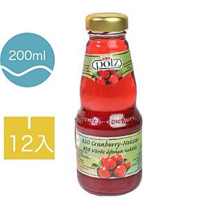 [德國好鮮] 有機蔓越莓汁-隨手瓶 (12入200ml/瓶) {效期: 2019-05-24}