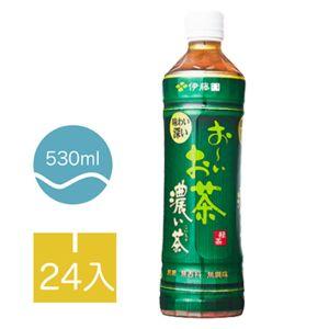 [伊藤園] 濃味綠茶 (24入組/每罐530ml)