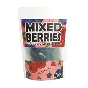 [Unogreen] 嚴選綜合果乾(蔓越莓+藍莓) (共4包150g/包)