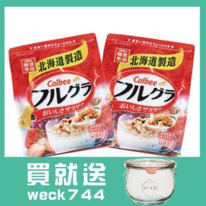 [日本Calbee] 富果樂水果麥片(500g/袋)2入組