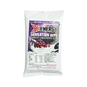 [韓國 X-Energy] 分離乳清蛋白-葡萄 (40g/包)