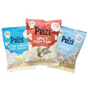 [Prize Snack] 爆米圓餅3入超值組(20g/包) {賞味期限: 2019-01-24}