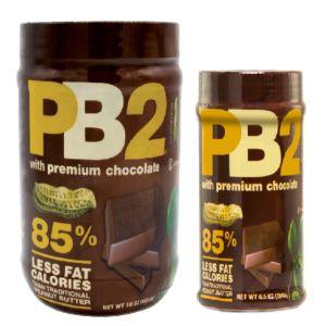 [PB2] 粉狀可可花生醬 (大+小各一罐)
