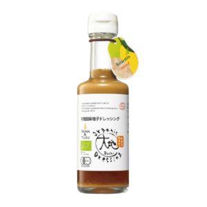 [大地] 日本有機胡麻柚子和風醬 (175ml/瓶)