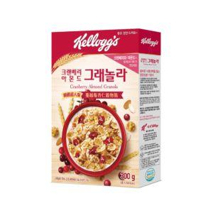[家樂氏] 蔓越莓杏仁穀物脆 (300g/盒)
