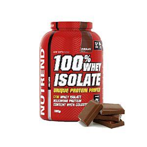 [捷克 Nutrend] 分離乳清蛋白-濃純巧克力風味(1.8kg/罐)