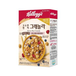 [家樂氏] 莓果豆漿塊 黑豆糙米穀物脆 (310g/盒)