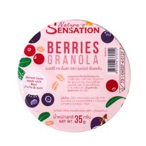 [Nature's Sensation] 繽紛莓果脆麥片(35g/個)