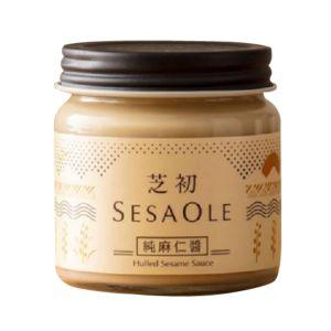 [芝初] 無加糖純麻仁醬 (170g/罐)