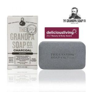 [Grandpa 神奇爺爺] 活炭大麻籽薄荷專業淨膚皂 4.25oz