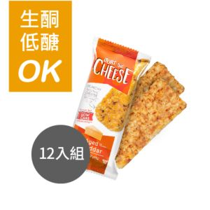 [美國 Just the Cheese] 熟成切達起司脆餅12入
