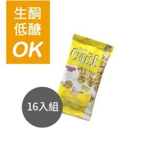 [美國 Just the Cheese] 白切達mini起司圓餅16入組