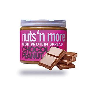 [美國 Nuts' n More] 香濃可可高蛋白花生醬(454g/罐)