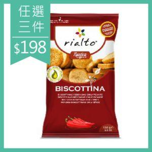 [Rialto]吐司脆餅-香辣口味 (100g/包)
