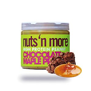 [美國 Nuts' n More] 可可脆片楓糖高蛋白花生醬 (454g/罐)