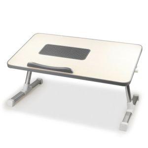 [台灣 Aibo] 多功能折疊電腦散熱桌-灰色