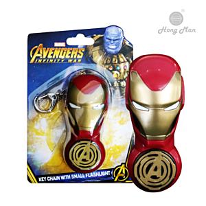 [CAMINO] 復仇者聯盟系列 鋼鐵人 手電筒鑰匙圈