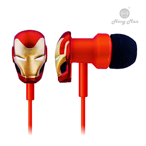 [CAMINO] 復仇者聯盟系列 鋼鐵人 入耳式有線耳機
