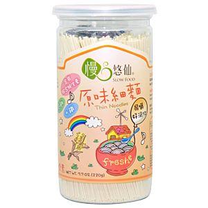 [慢悠仙] 低鈉原味細麵 (220g/罐)