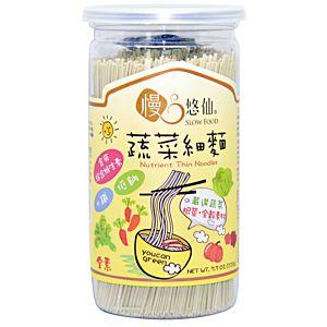 [慢悠仙] 低鈉蔬菜細麵 (220g/罐)