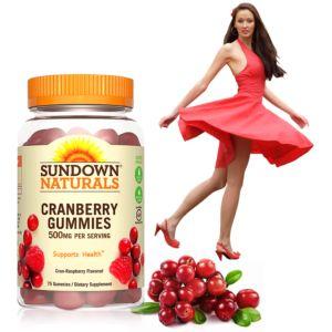 [Sundown 日落恩賜] 50倍濃縮蔓越莓軟糖(75粒/瓶)