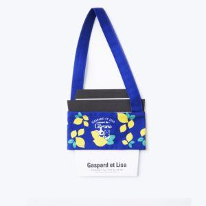 [Gaspard et Lisa 麗莎和卡斯柏]環保杯套-喜歡檸檬(藍)