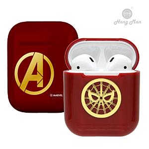 [CAMINO] 復仇者聯盟 AirPods硬式保護套 鋼鐵蜘蛛人