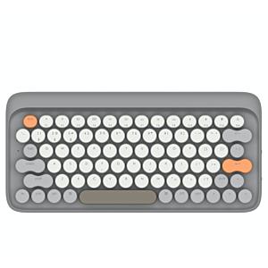 [Lofree] 打字機鍵盤 全球限定注音版 - 秋/灰