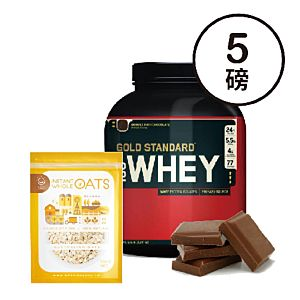 [組合商品] ON雙倍巧克力(5磅/罐)+Daily Boost即食大燕麥片(500g/包*4)