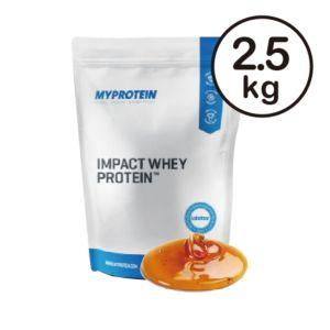[英國 Myprotein] 濃縮乳清蛋白-焦糖海鹽(2.5kg/包)