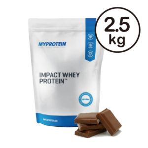 [英國 Myprotein] 濃縮乳清蛋白-天然巧克力(2.5kg/袋)