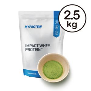 [英國 Myprotein] 濃縮乳清蛋白-抹茶(2.5kg/包)