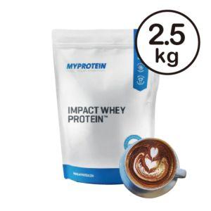 [英國 Myprotein] 濃縮乳清蛋白-摩卡(2.5kg/包)
