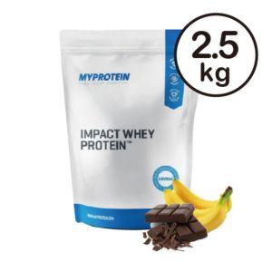 [英國 Myprotein] 濃縮乳清蛋白-巧克力香蕉(2.5kg/包)