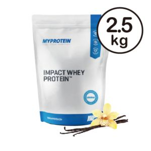 [英國 Myprotein] 濃縮乳清蛋白-天然香草(2.5kg/袋)