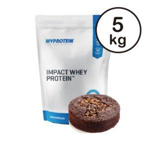 [英國 Myprotein] 濃縮乳清蛋白-巧克力布朗尼口味(5kg/袋)