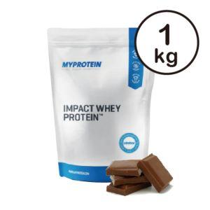 [英國 Myprotein] 濃縮乳清蛋白-天然巧克力(1kg/袋)