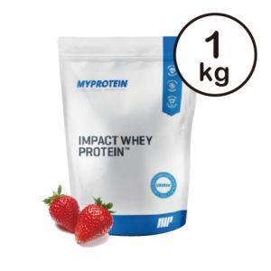 [英國 Myprotein] 濃縮乳清蛋白-天然草莓(1kg/包)