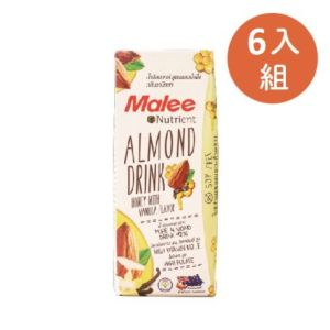 [Malee] 蜂蜜杏仁飲6入組 (180ml/罐)