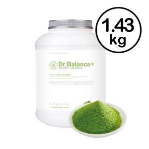 [韓國 Dr. Balance+] 乳清蛋白-濃醇抹茶(1.43kg/罐)(含湯匙)