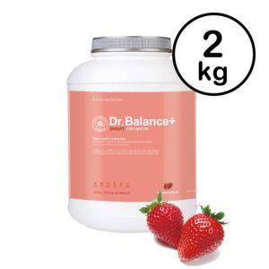 [韓國 Dr. Balance+] 乳清蛋白-繽紛草莓(2kg/罐)(含湯匙) {賞味期限: 2019-03-06}