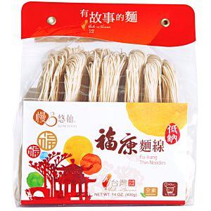 [慢悠仙] 低鈉福康麵線 (400g/包)