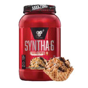 [美國 BSN] Syntha-6乳清蛋白-酷聖石系列-德意志巧克力(2.59磅/罐)