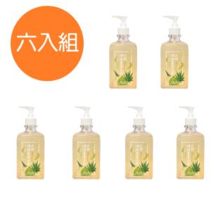 [土生土長] 天然檸檬蘆薈洗劑6入組(500ml/瓶)
