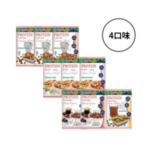 [美國 Kay's Naturals] 蛋白質夾心餅乾綜合9入組(34g/包*9) {賞味期限: 2019-03-05}